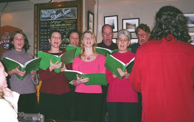photo of the choir